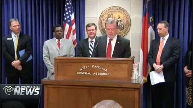 Time Warner Cable News: NC Lawmakers Help Host Fundraiser For NC Food Banks
